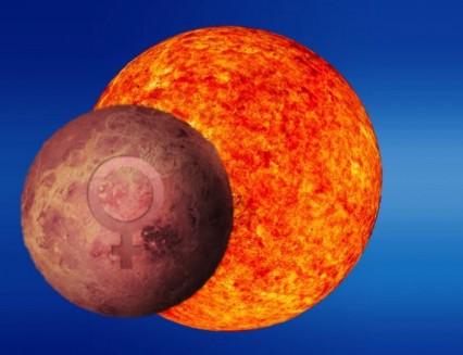 Sun Conjunct Venus. Combust Venus