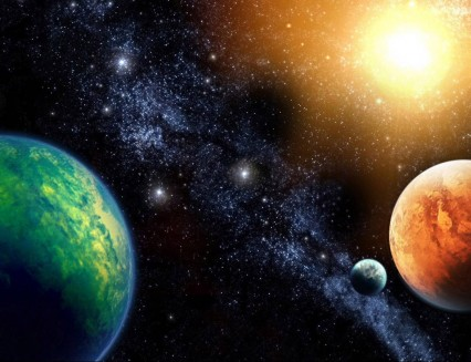 Planets in Aspects