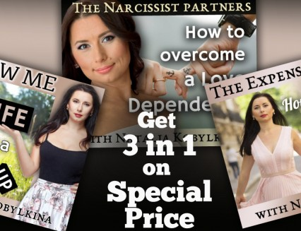 August Package ( Narcissists + Expensive woman + The new me)