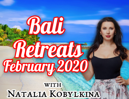 Retreats in Bali, January-February 2020