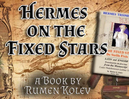 ON SALE ONLY NOW Hermes on the Fixed Stars Book