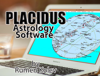 50% DISCOUNT PLACIDUS 7.0 Astrology Computer Program