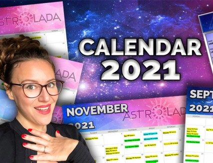 50% OFF 2021 Astrology Calendar