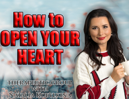 How to open your heart – therapeutic group