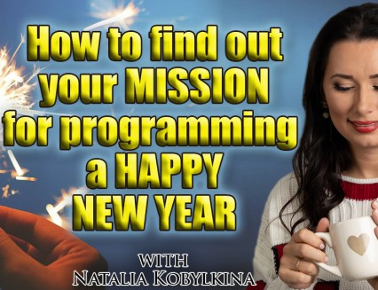 How to find out your mission for programing a happy new year