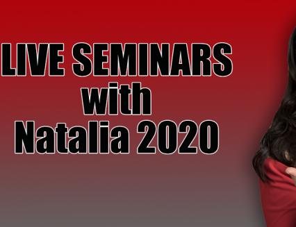 Live seminars with Natalia