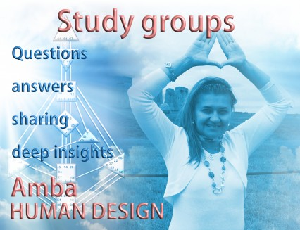Study groups. Questions, answers, sharing, deep insights