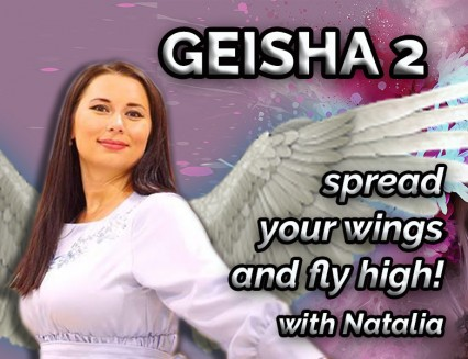 PROMO GEISHA-2 - spread your wings and fly high!