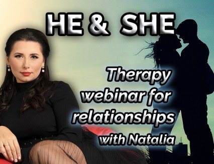 NEW She and He – Therapy webinars for relationships