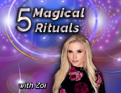 5 magical rituals by Zoi
