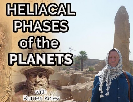 NEW Helical phases of the planets. Babylonian Astrology