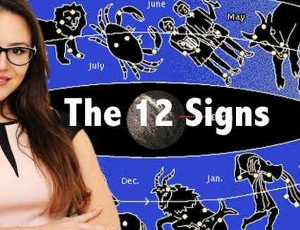 The 12 Zodiac Signs. Foundations of Astrology.