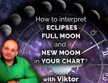How to interpret eclipses, full moon and new moon in your chart?