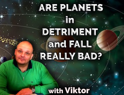 BLACK FRIDAY DISCOUNT Are planets in detriment and fall really bad?