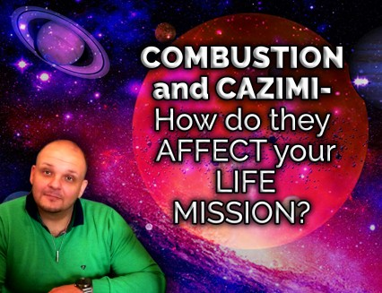 BLACK FRIDAY DISCOUNT NEW Combustion and Cazimi - How do they affect your life mission?