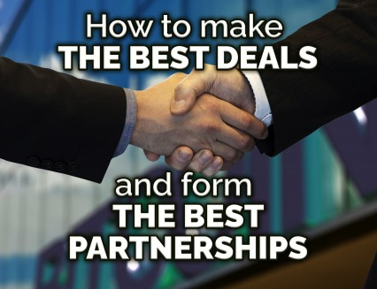 NEW How to make the best deals and form the best partnerships
