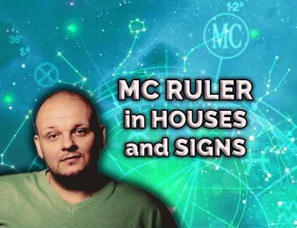 MC ruler in houses and signs