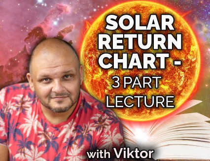 Solar return chart - 3 part lecture