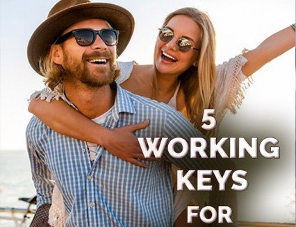 NEW 5 Working Keys For Happiness
