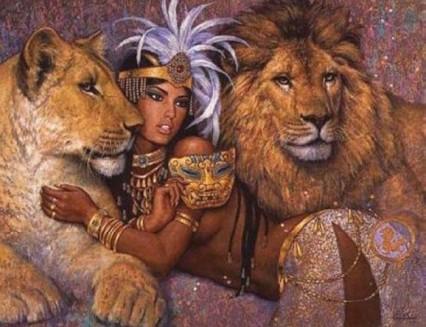 Venus in Leo. Love Style