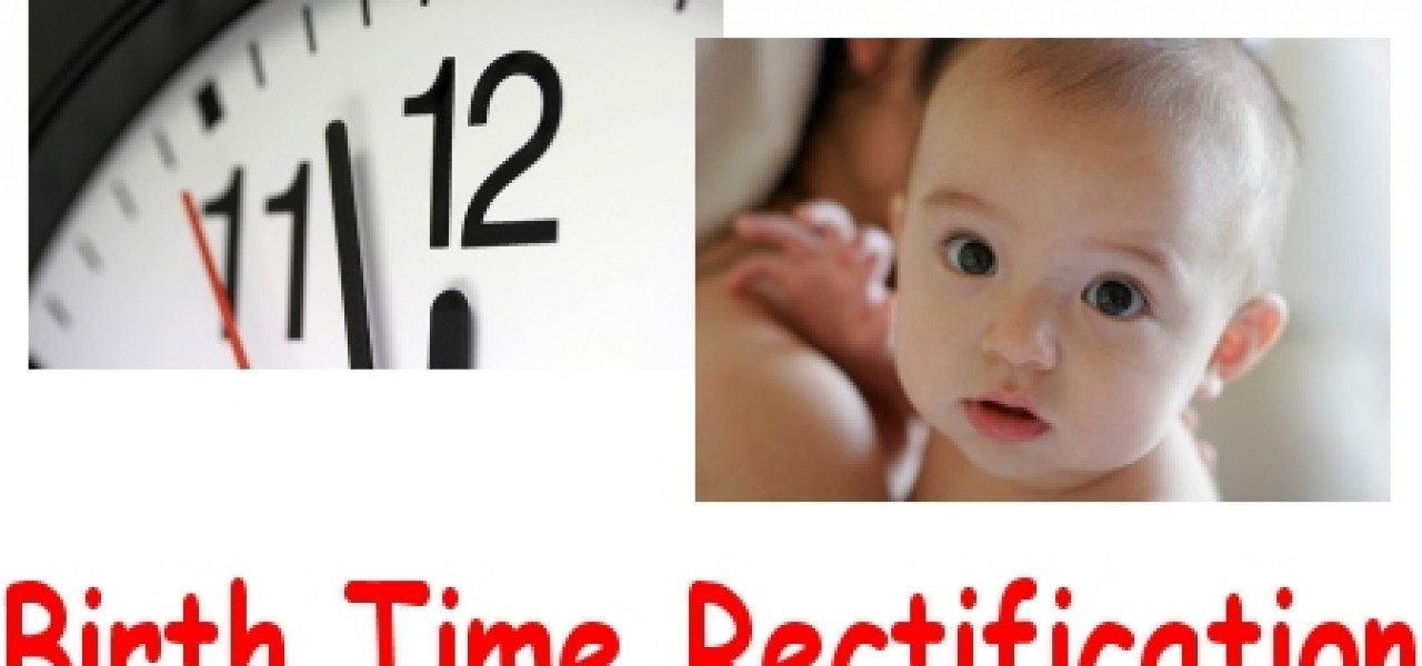Time of Birth Unknown: Is There a Way to Find It?