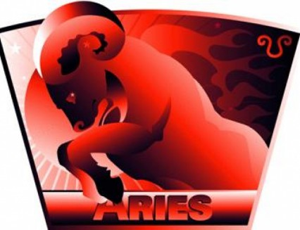Aries Color. Red Color Therapy