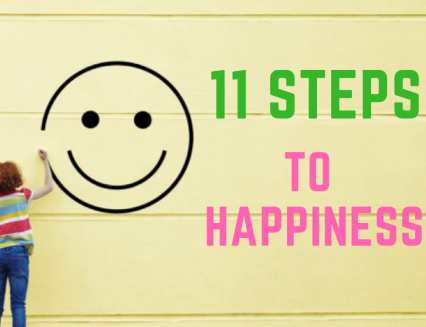 11 Steps to More Happiness