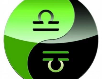 Libra Color. Green Color Therapy