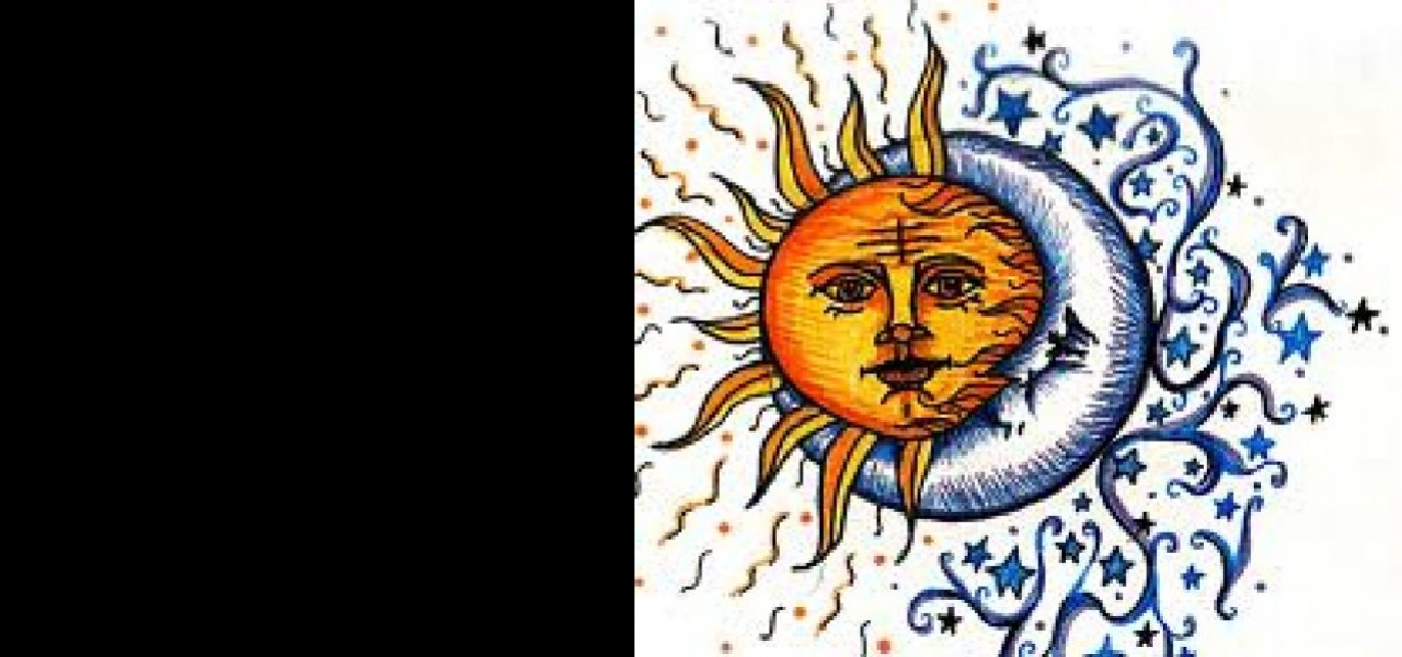 Sun with Moon in the Horoscope. Born on a New Moon!