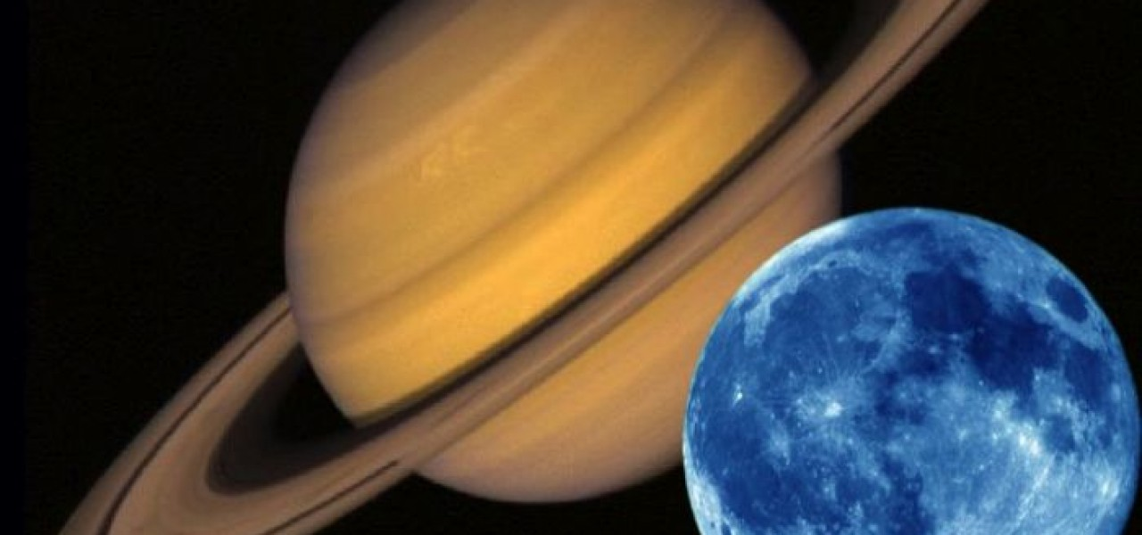 Saturn Conjunct Moon in the Birth Chart
