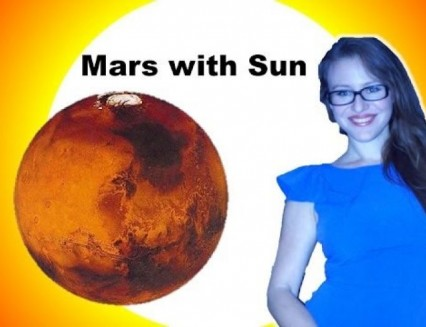 Mars Sun Aspect. Combust Mars